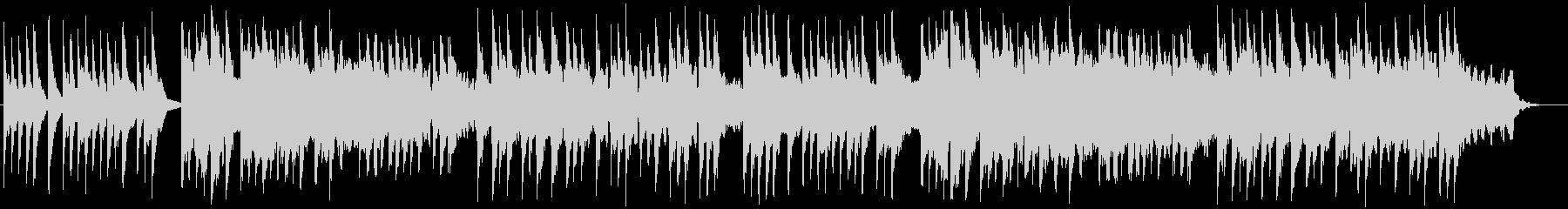 シネマティック和風BGM 琴 三味線 尺の未再生の波形