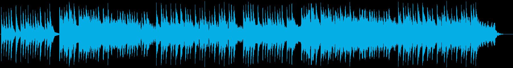 シネマティック和風BGM 琴 三味線 尺の再生済みの波形
