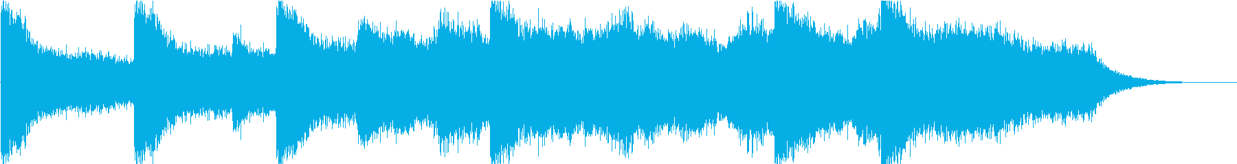 Hollywood movie style BGM (OP · appearance)'s reproduced waveform