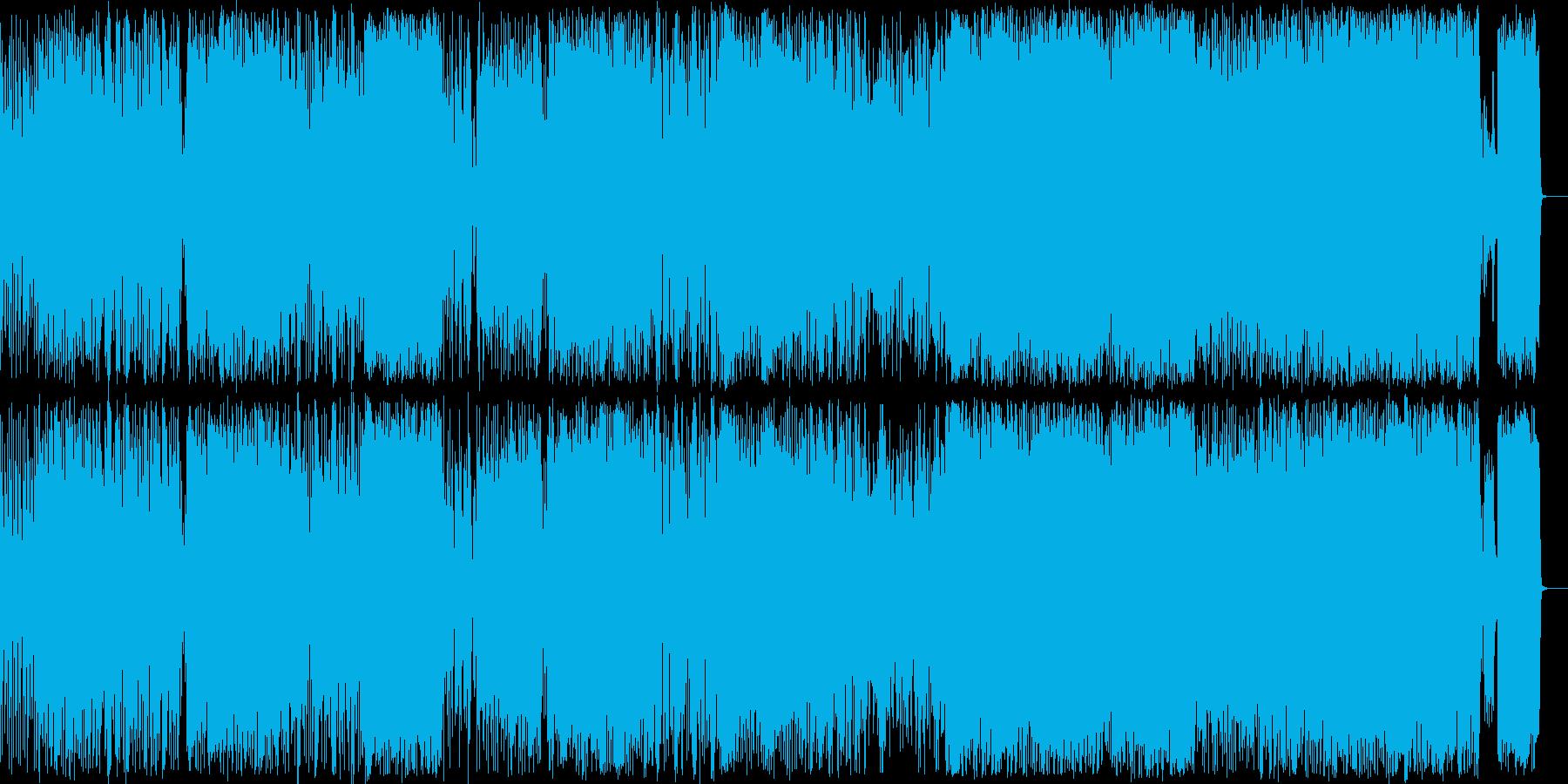 疾走感!ドライブ感!楽しい歌モノファンクの再生済みの波形