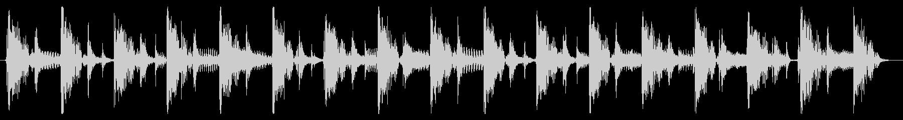 ベース生演奏のクールスラップジングル02の未再生の波形