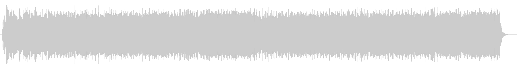 クールで軽快なシンセとエレキサウンドの未再生の波形