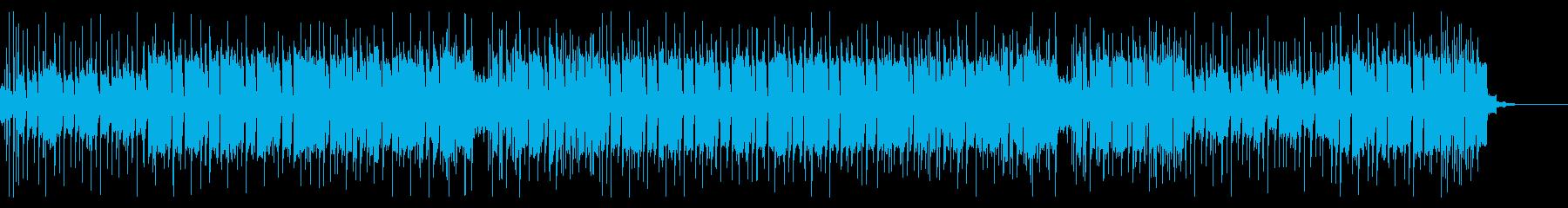 格闘技の入場シーン的なハードロックの再生済みの波形