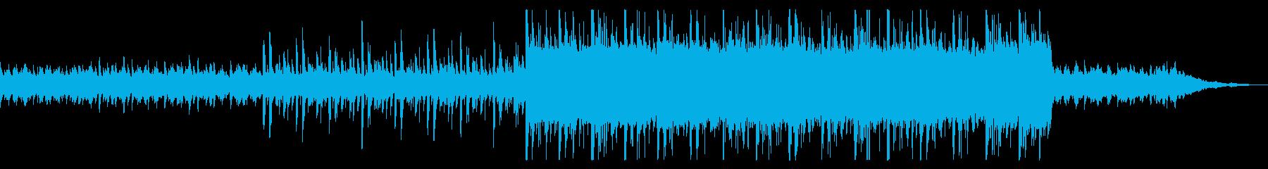 心地よい安らぎのヒーリングミュージックの再生済みの波形
