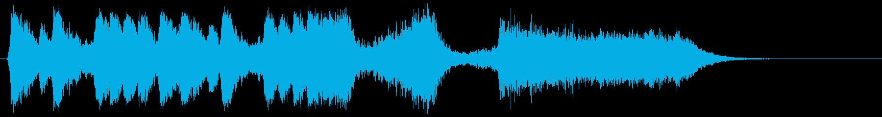 勇壮な合唱オーケストラ:編集版Cの再生済みの波形