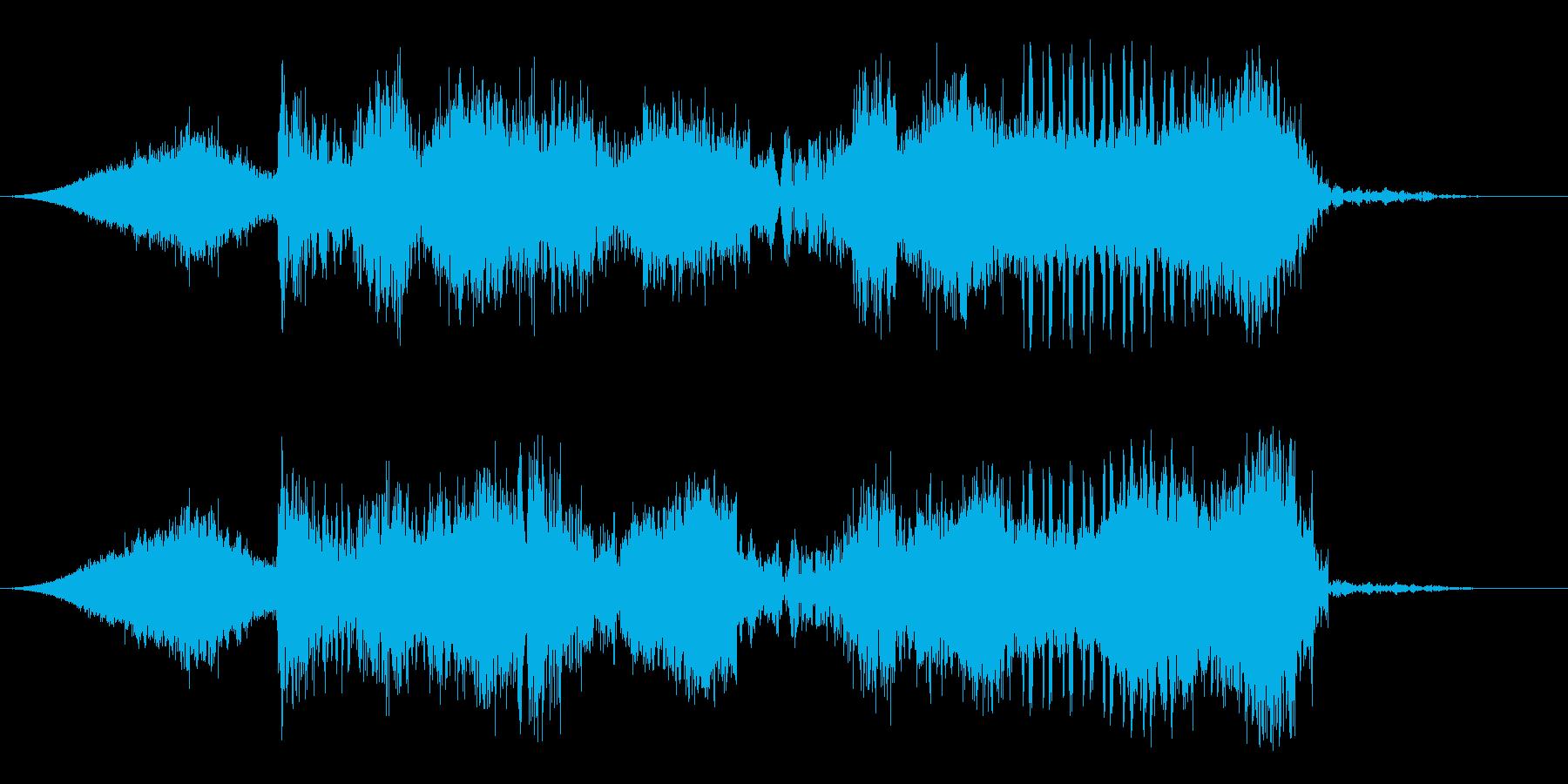 揮発性の再生済みの波形