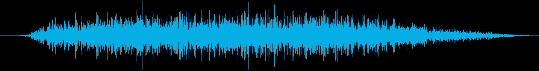 火炎放射器:ミディアムバースト、火...の再生済みの波形