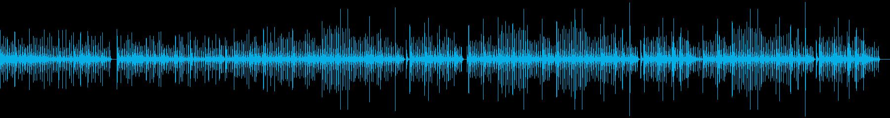 のんびりとした静かな木琴/施設BGMの再生済みの波形