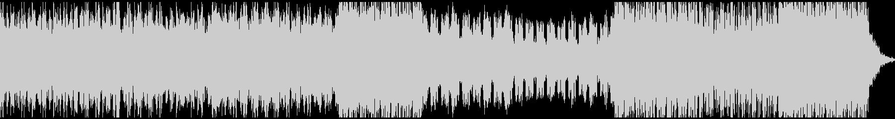 エレクトロニカバラードの未再生の波形