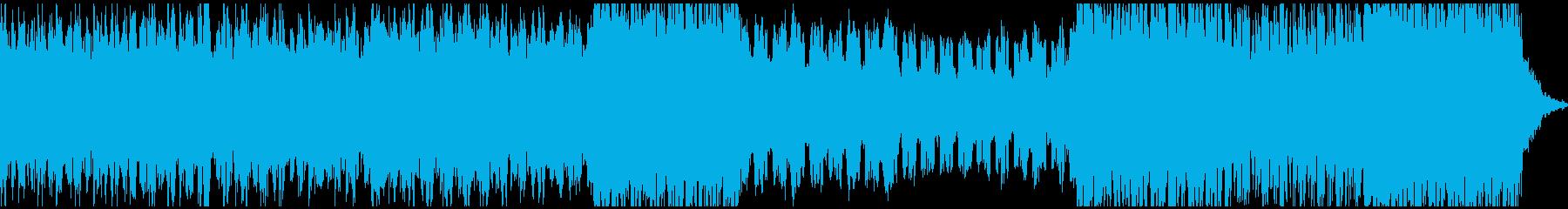 エレクトロニカバラードの再生済みの波形