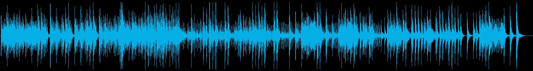 「ペール・ギュント 朝の気分」ウクレレの再生済みの波形