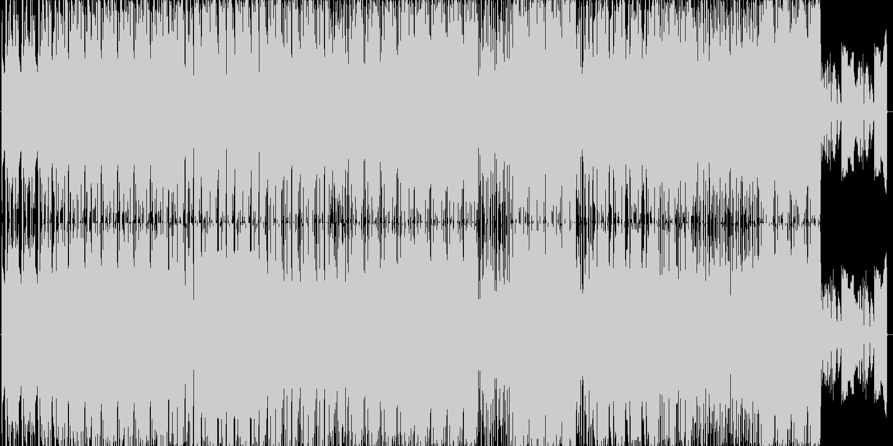 エレクトロニック サスペンス 電子...の未再生の波形
