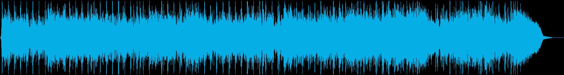 シックな雰囲気のロックの再生済みの波形