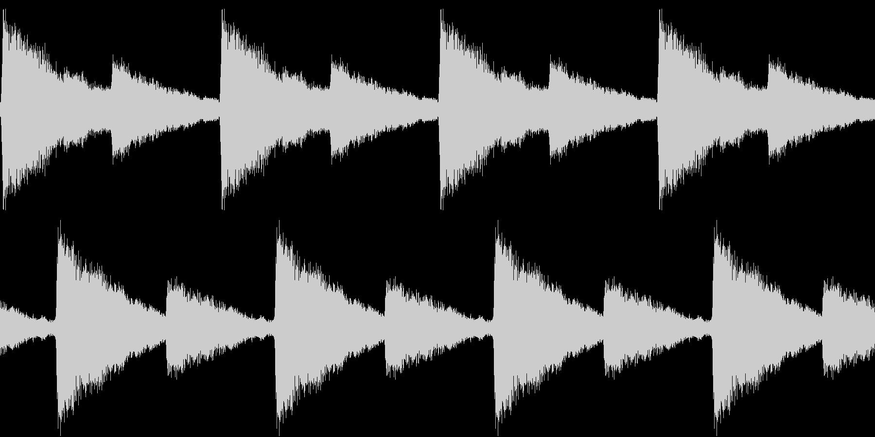 Siren 踏切りのサイレン REMIXの未再生の波形
