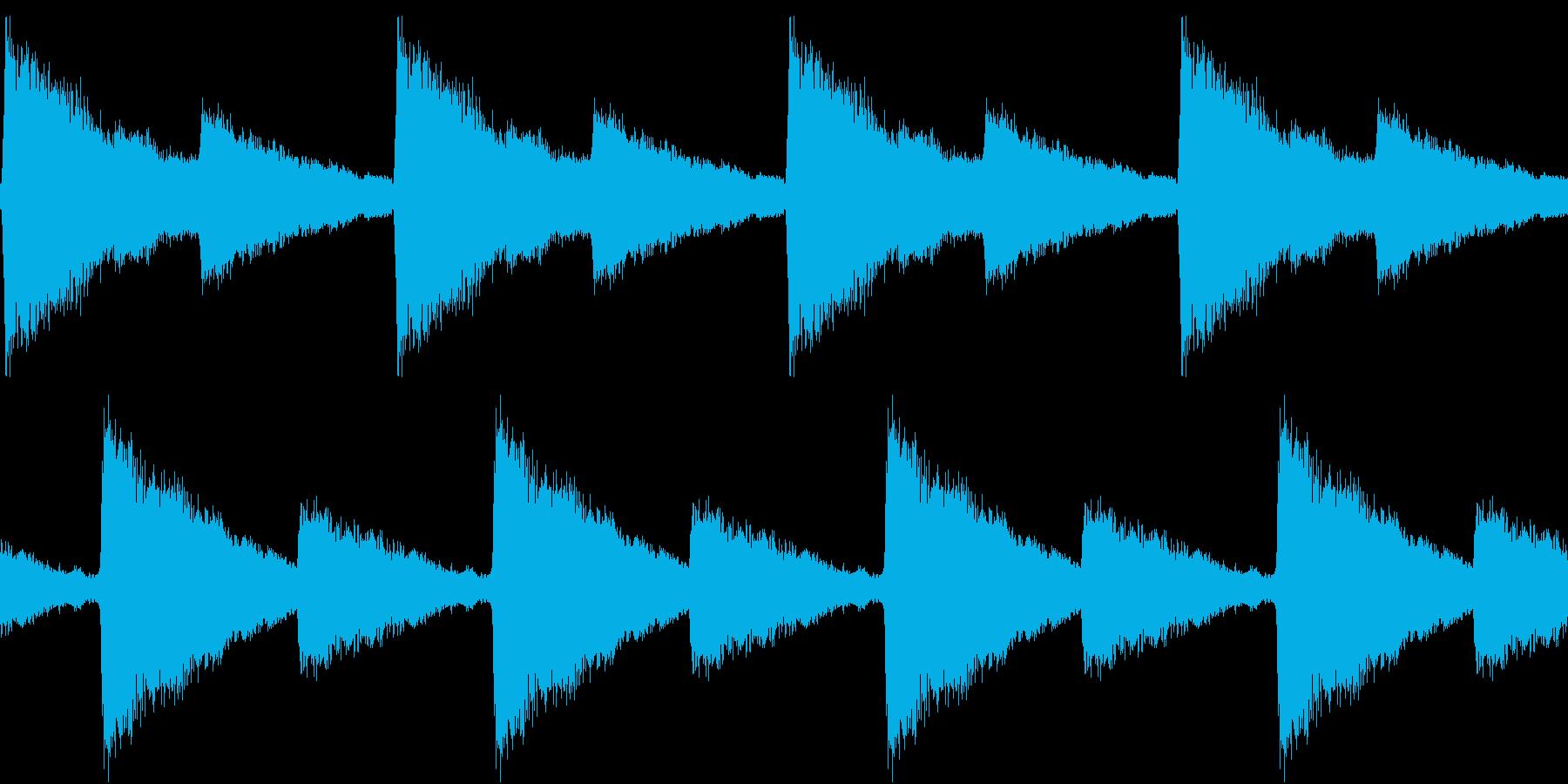 Siren 踏切りのサイレン REMIXの再生済みの波形