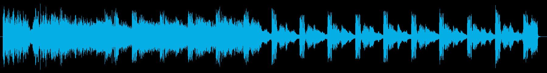 M16チューナービーツの再生済みの波形