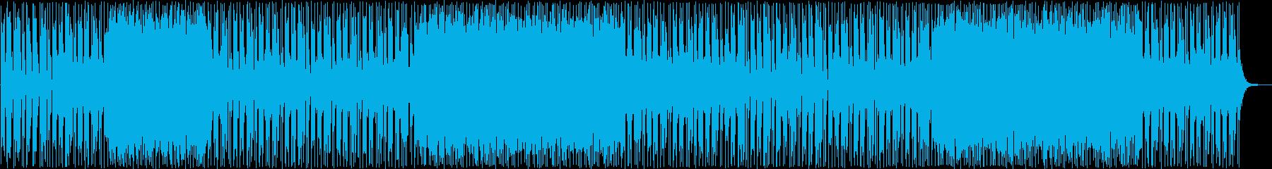 はじけるギターポップサウンドの再生済みの波形