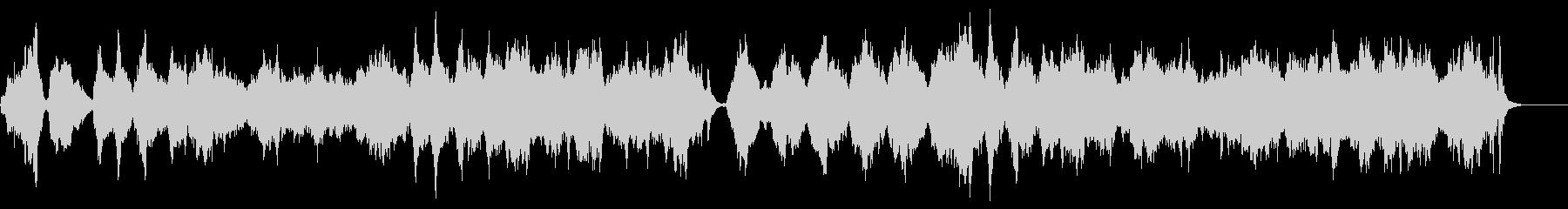 ◇ AUTUMN WALTZの未再生の波形