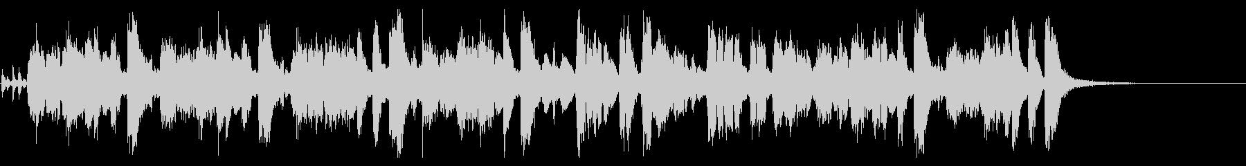 豪華なビッグバンドのジングル・24秒の未再生の波形