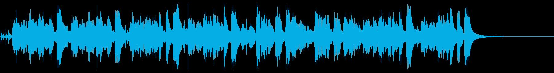 豪華なビッグバンドのジングル・24秒の再生済みの波形