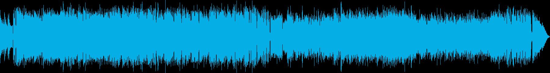 管楽器がビンビンのラテン(キューバ系)の再生済みの波形