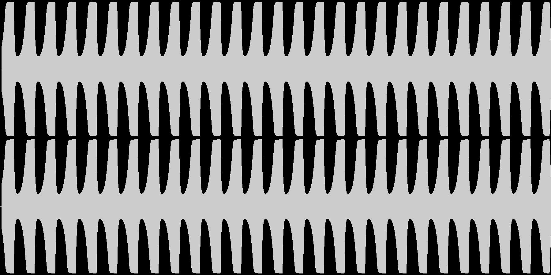 ゲームテキスト効果音A-3(長い)の未再生の波形