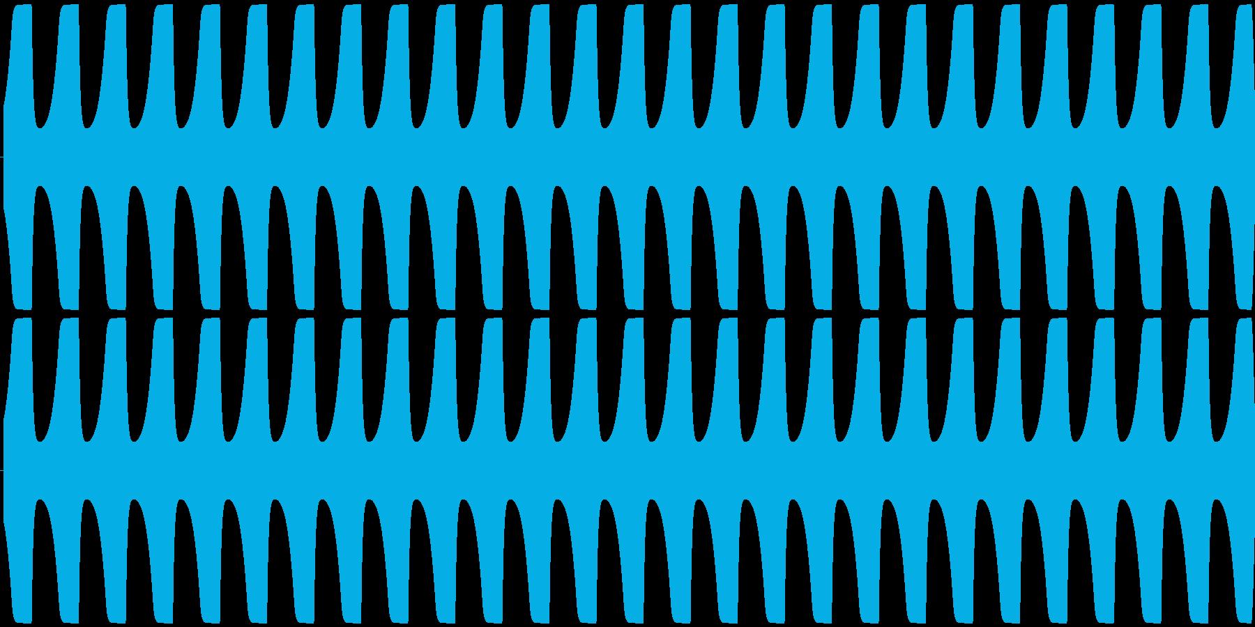 ゲームテキスト効果音A-3(長い)の再生済みの波形