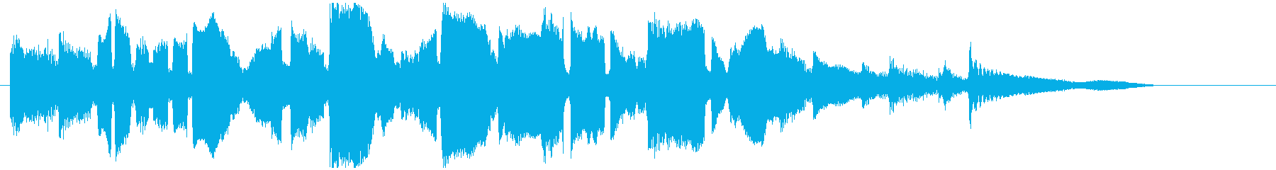穏やか優しいサックスバラード CM向けの再生済みの波形