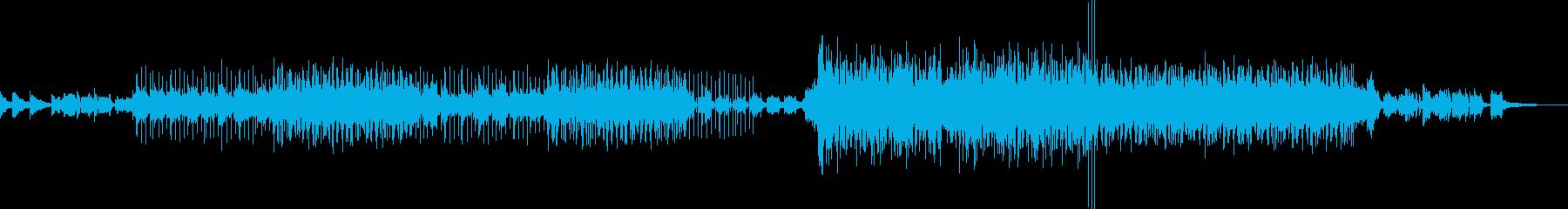 ピアノの旋律が印象的なポップスの再生済みの波形