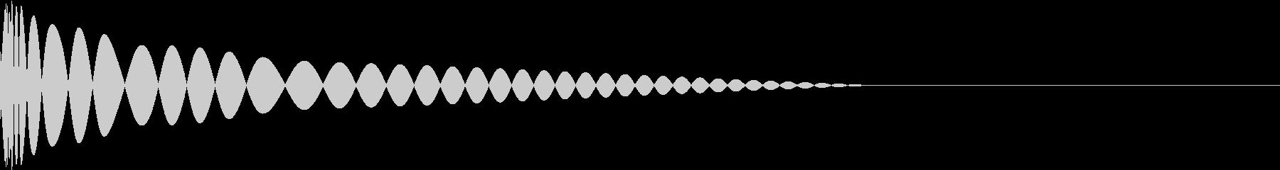 DTM Kick 14 オリジナル音源の未再生の波形