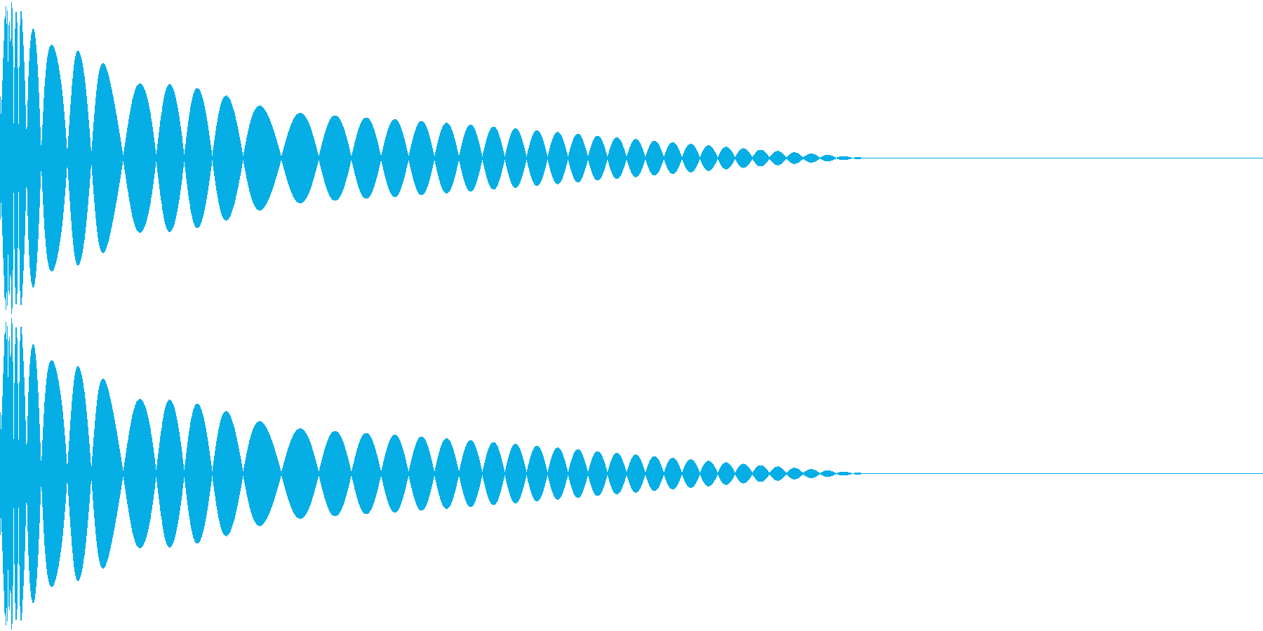 DTM Kick 14 オリジナル音源の再生済みの波形