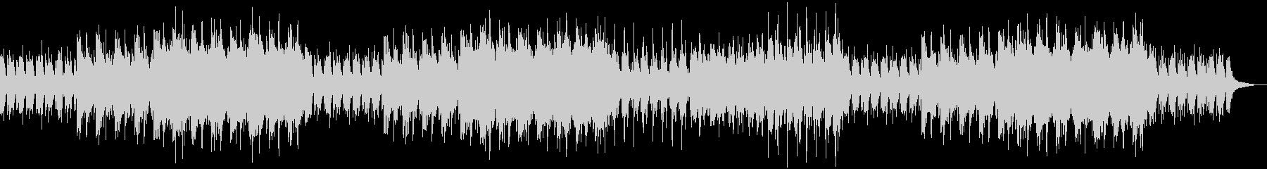 メロディーが美しいバラード調のBGMの未再生の波形
