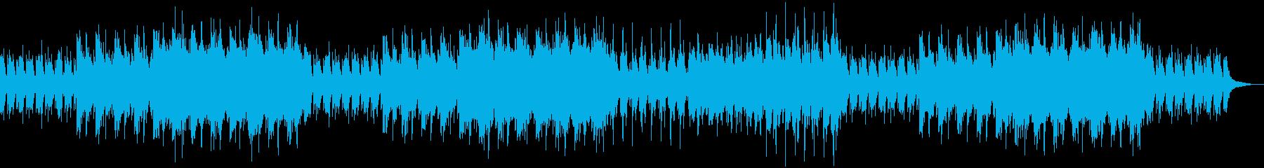 メロディーが美しいバラード調のBGMの再生済みの波形