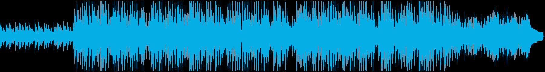 キラキラ爽やかなピアノポップスの再生済みの波形
