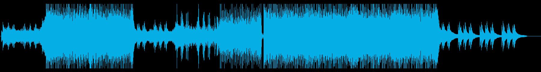 グルーヴと迫力のある 美メロ EDM の再生済みの波形