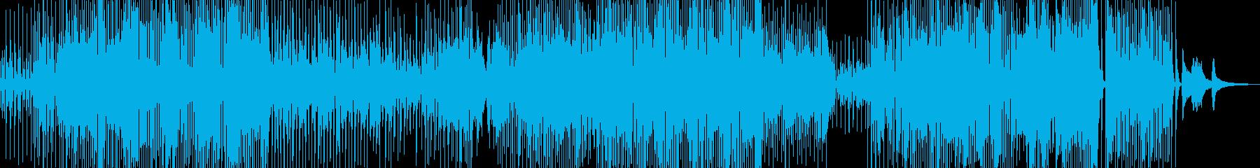 三味線・軽快ユーモラスなジャズ+サックスの再生済みの波形