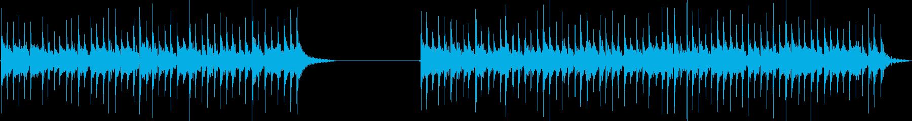 ドラム、ロータム、ロール、2バージ...の再生済みの波形
