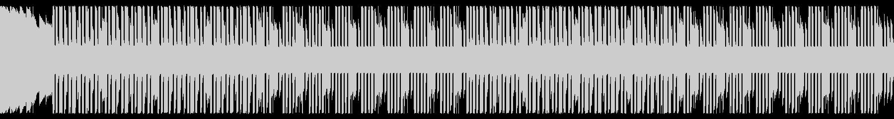 ウキウキチップチューン 8bit ループの未再生の波形