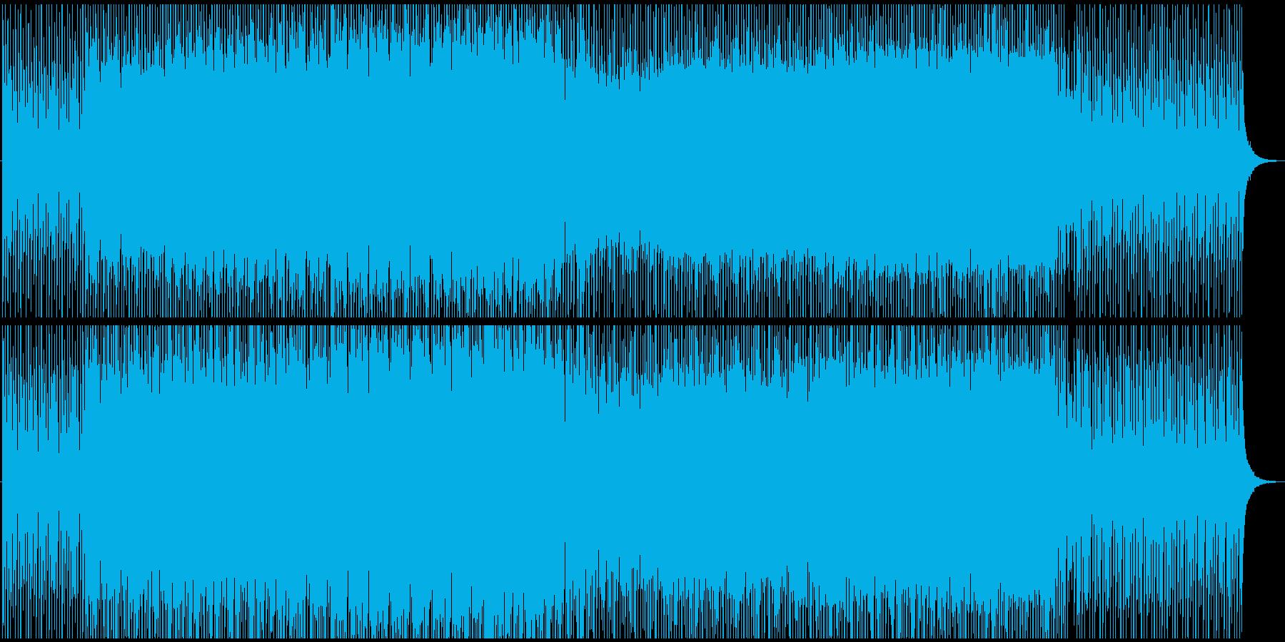 爽やかなピアノの明るい雰囲気エレクトロの再生済みの波形