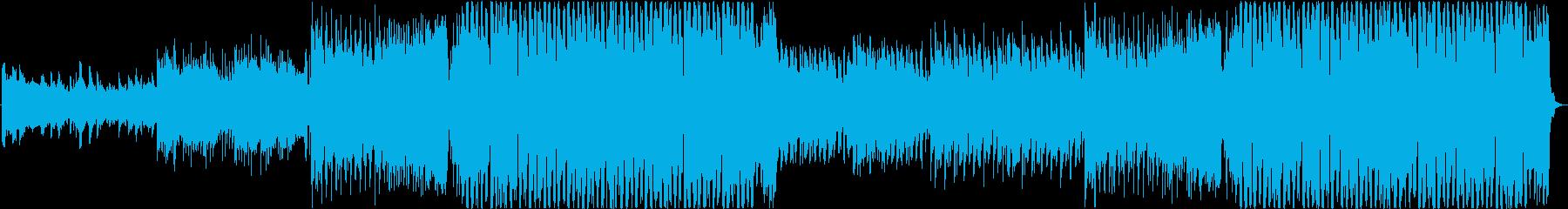 明るいオープニングEDM/Houseの再生済みの波形