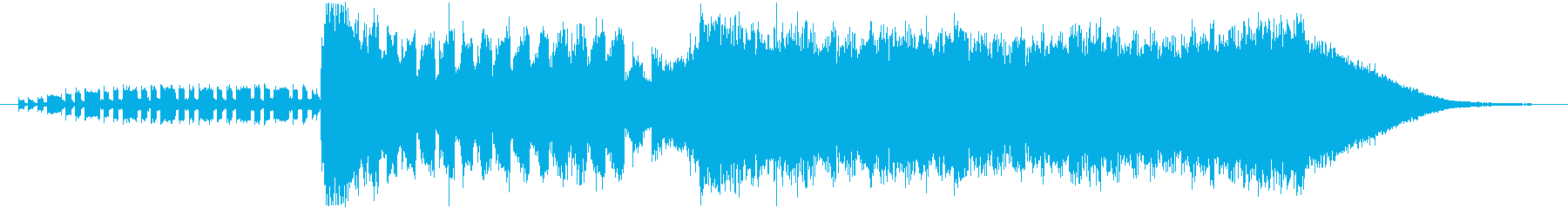 LIVEの入場を想定したEDMの再生済みの波形