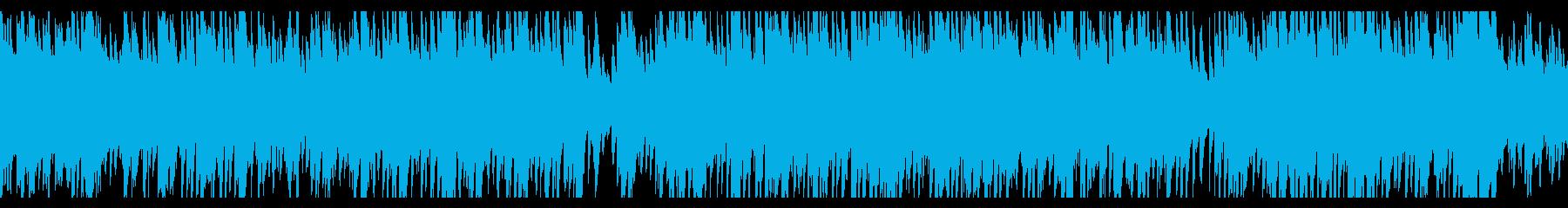 おしゃれなカフェ・ミュージック風 ピアノの再生済みの波形