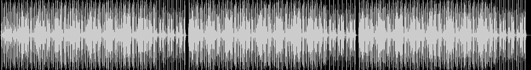 YouTube 口笛・軽快な足踏リズムの未再生の波形