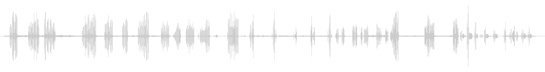 マレレンガカルボネラの未再生の波形