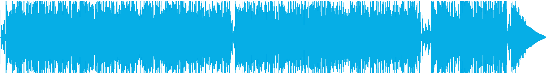 おしゃれな大人のムード漂うジャズBGMの再生済みの波形