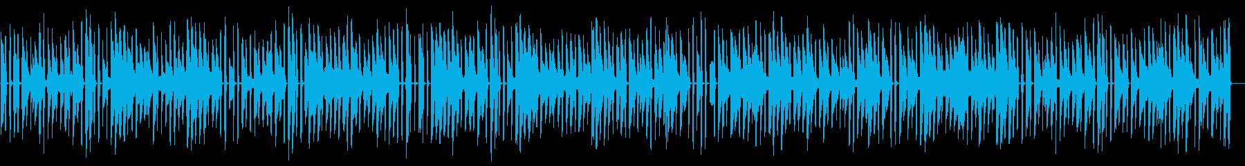 少し調子外れのホンキートンクピアノの再生済みの波形