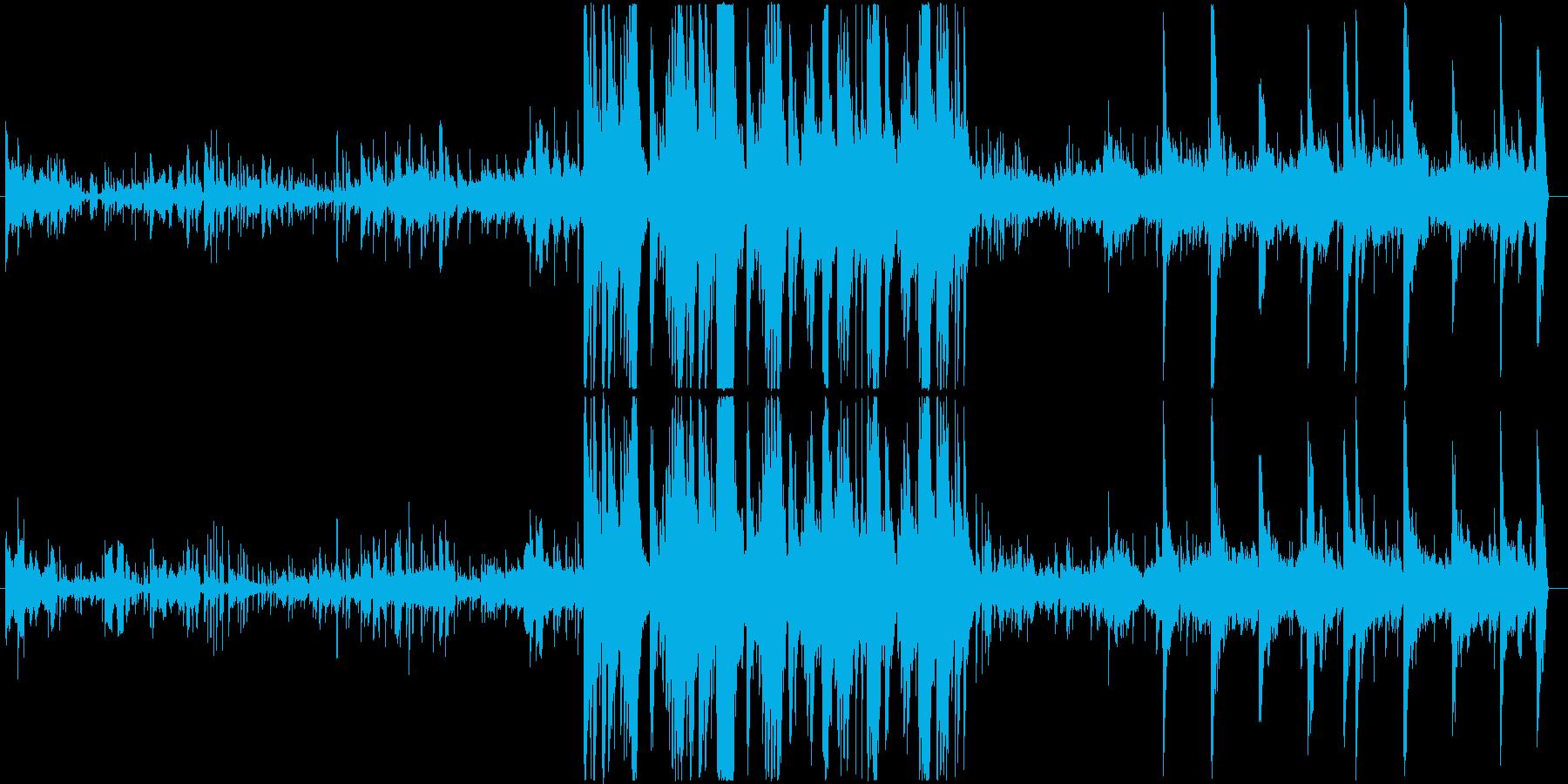 疑い・疑惑シーンのBGMの再生済みの波形