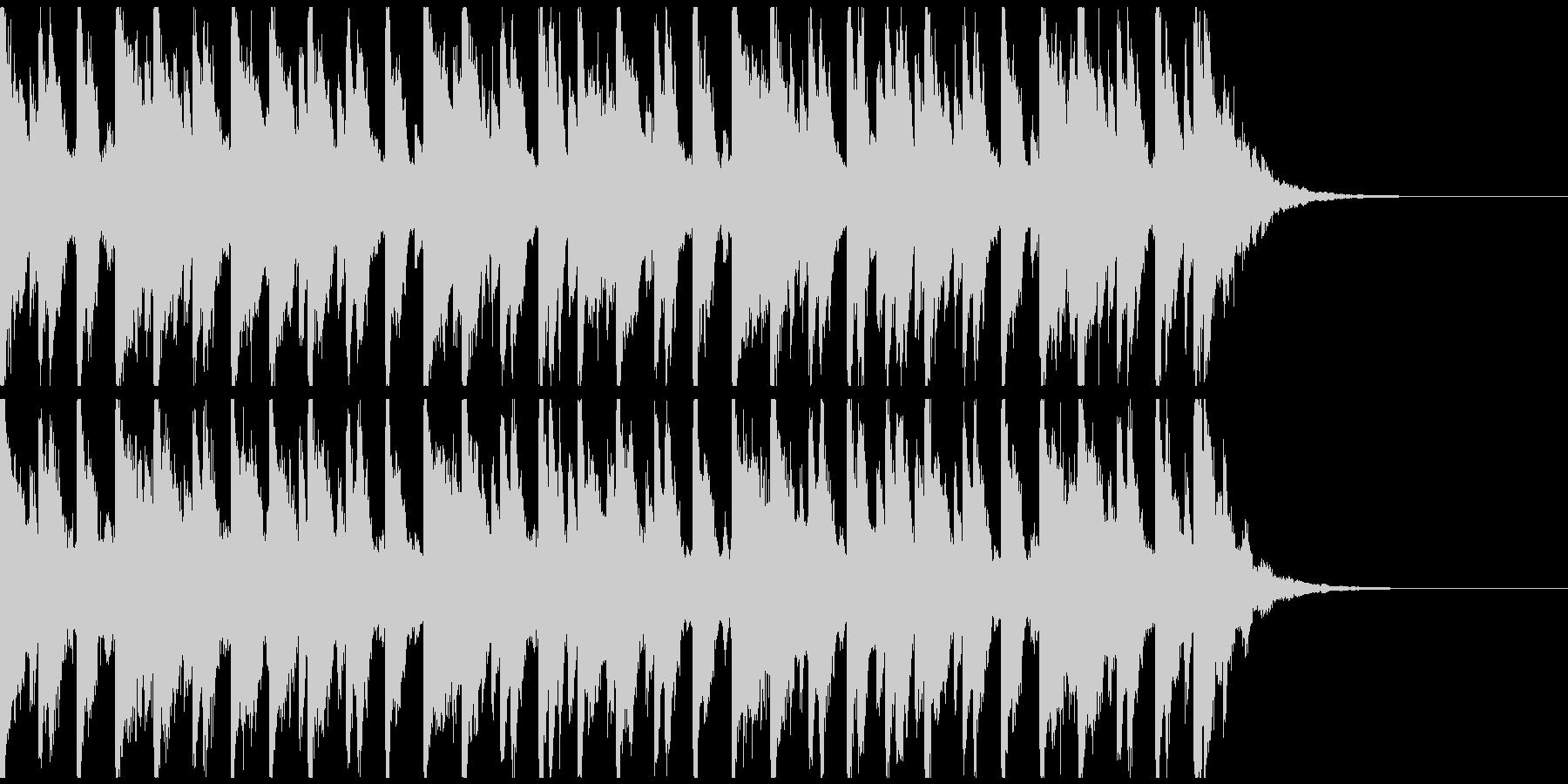 オシャ4つ打ち、スタイリッシュ雰囲気系2の未再生の波形