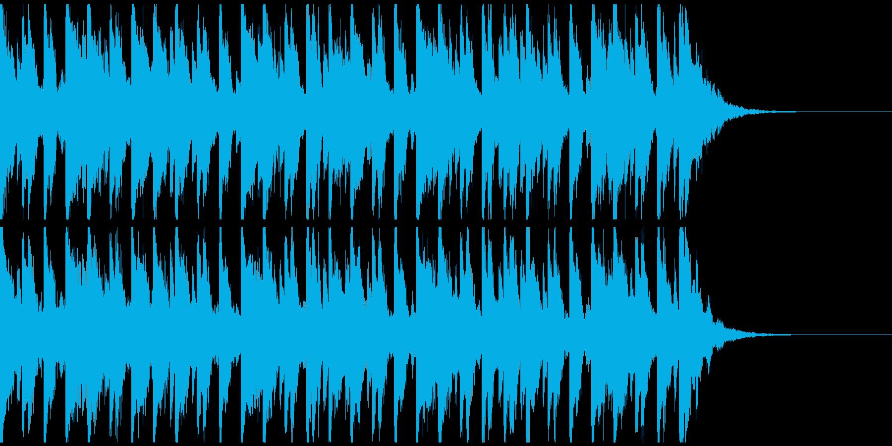 オシャ4つ打ち、スタイリッシュ雰囲気系2の再生済みの波形