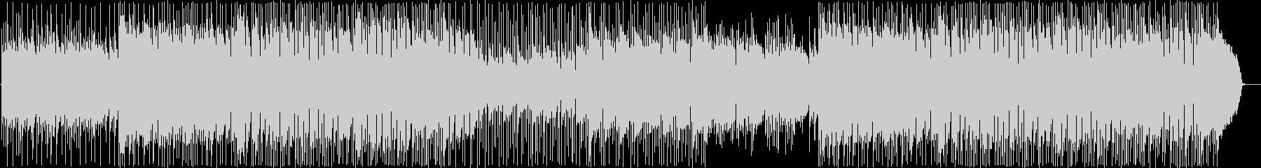 アコギのアンサンブル、さわやか系の一曲の未再生の波形